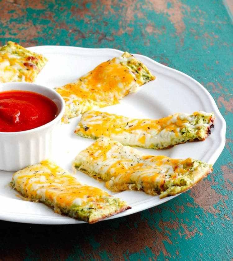 Zucchini Cheesy Bread  Cheesy Zucchini Breadsticks Smile Sandwich