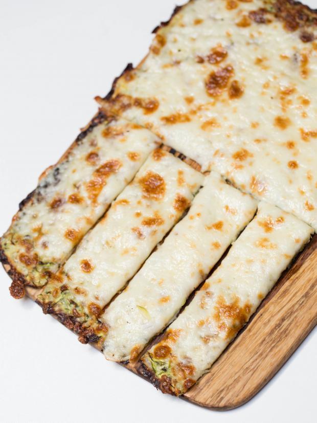 Zucchini Cheesy Bread  Cheesy Zucchini Breadsticks