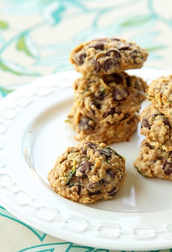 Zucchini Chocolate Chip Cookies  Zucchini Oatmeal Chocolate Chip Cookie Recipe The