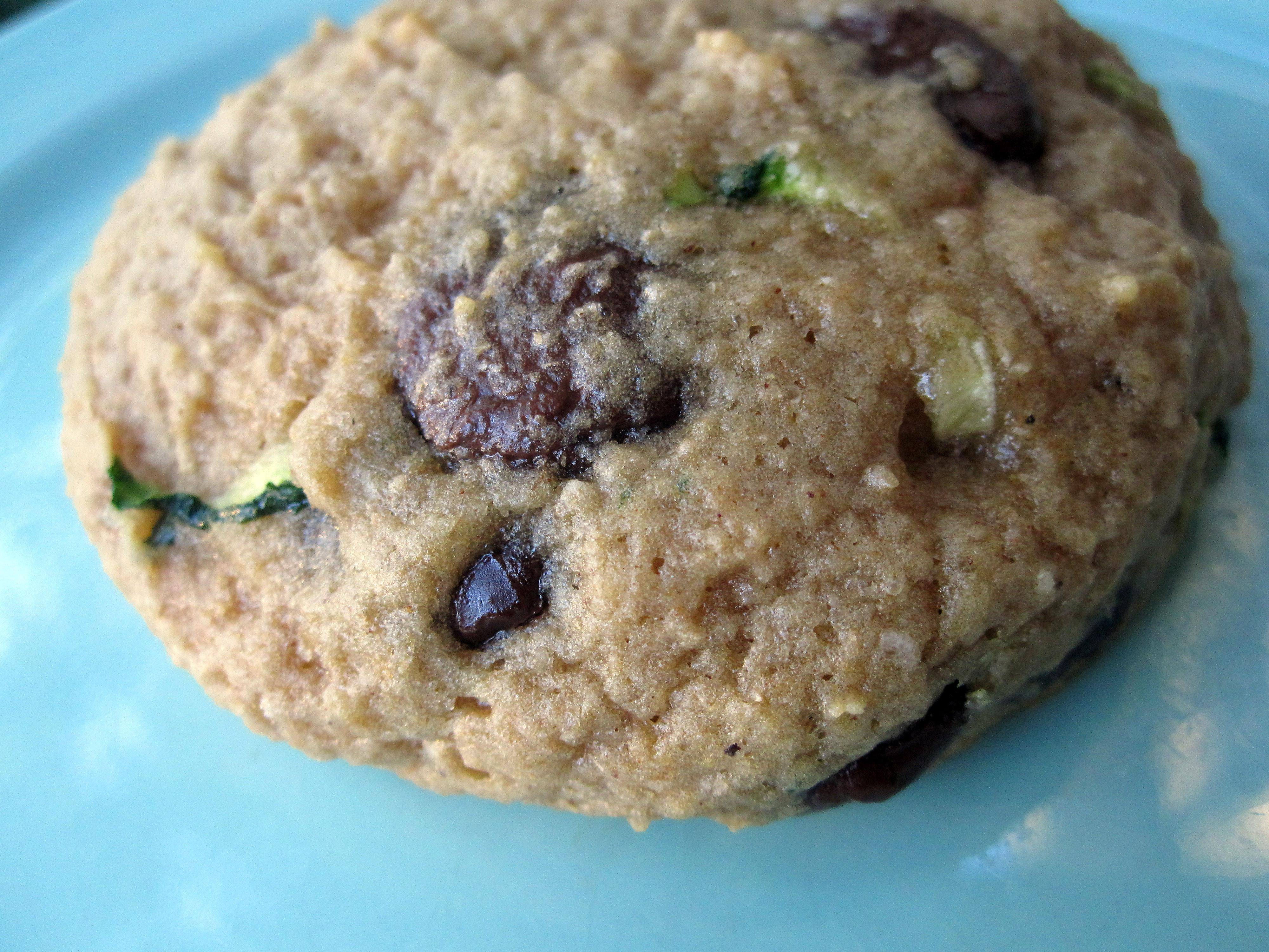 Zucchini Chocolate Chip Cookies  Zucchini Chocolate Chip Cookies Vegan Style