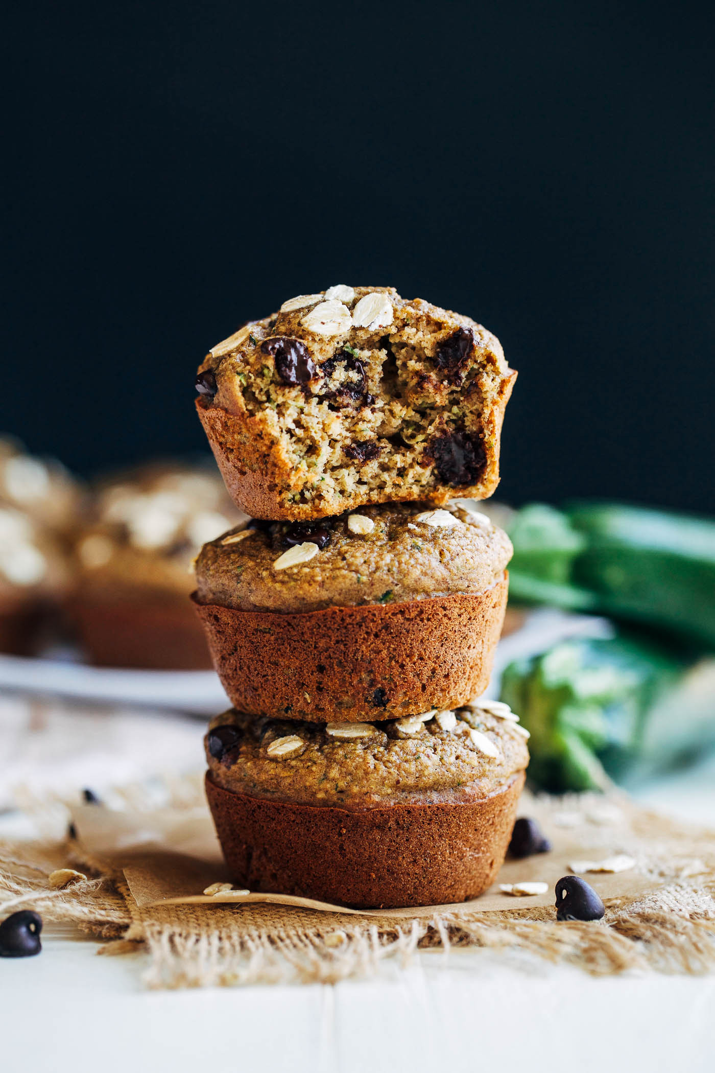 Zucchini Muffins Healthy  Healthy Flourless Zucchini Muffins Making Thyme for Health