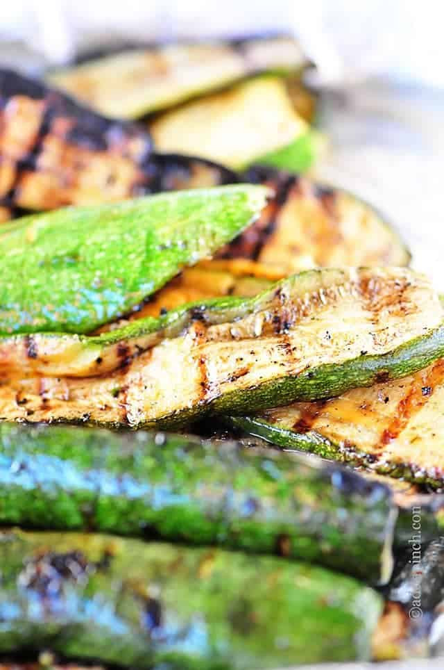 Zucchini On The Grill  Grilled Zucchini Recipe Add a Pinch