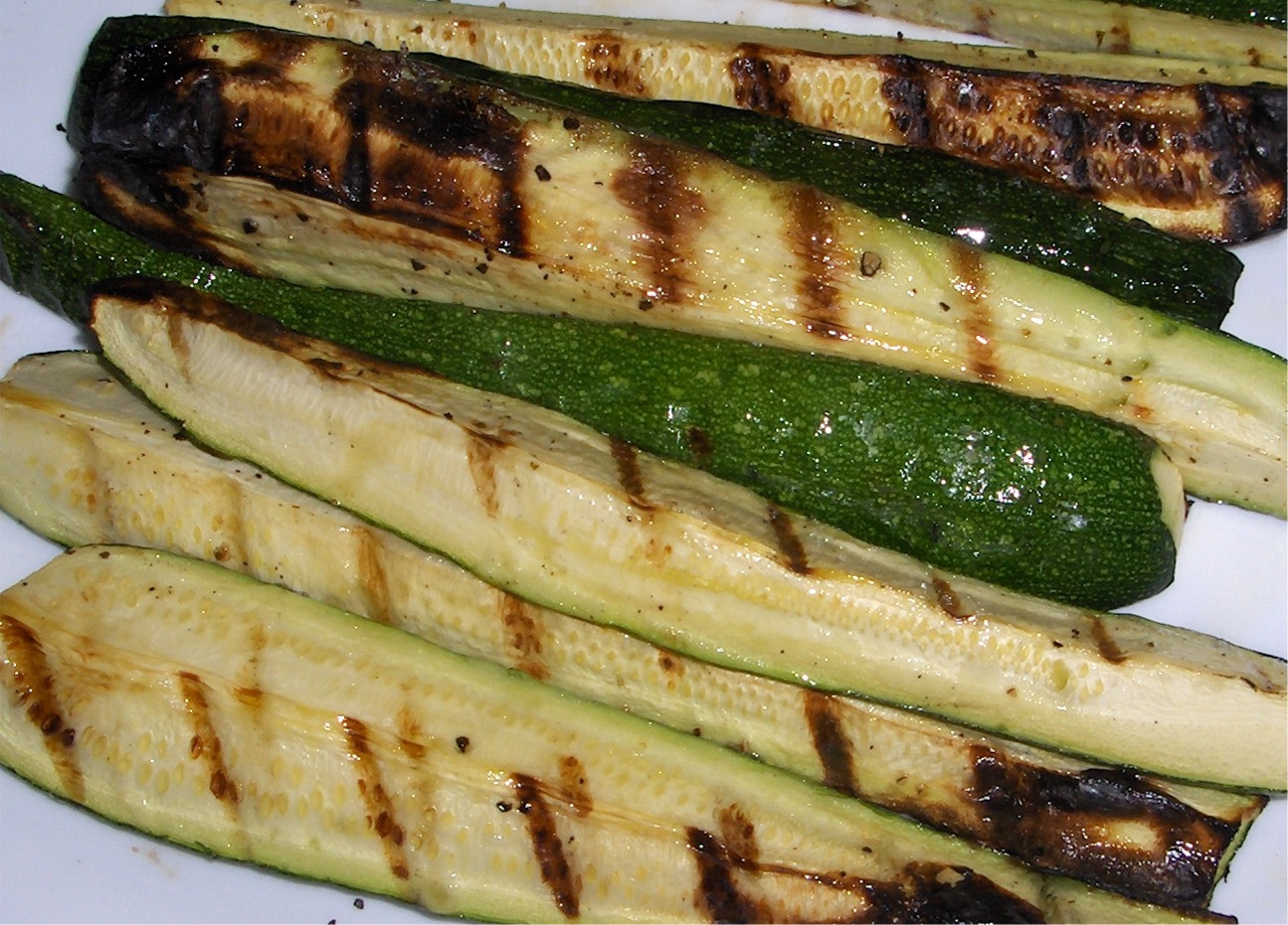 Zucchini On The Grill  Grilled Zucchini