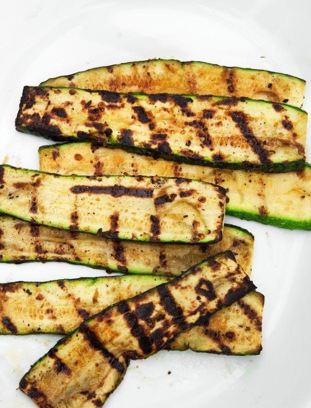 Zucchini On The Grill  grill zucchini gas grill