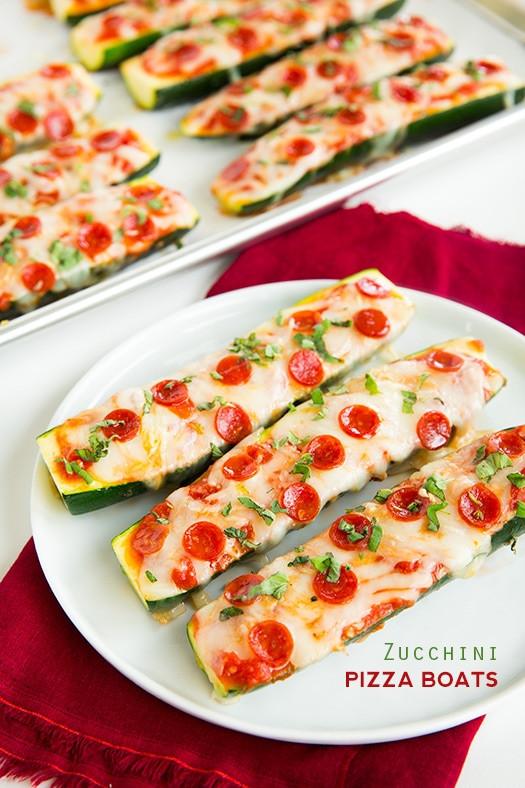 Zucchini Pizza Boats  Zucchini Pizza Boats Cooking Classy