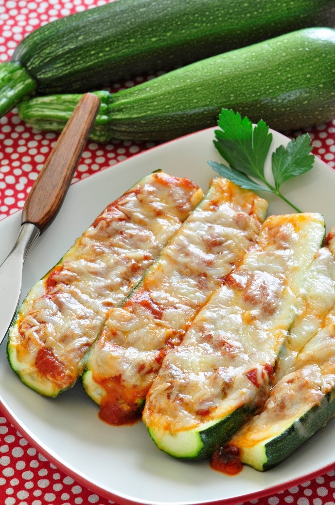 Zucchini Pizza Boats  The zucchini days of summer – Tillamook County Wellness