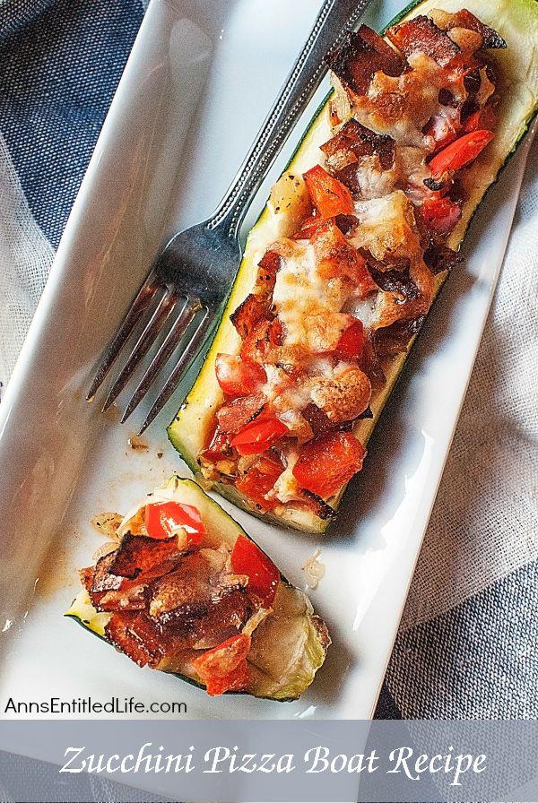 Zucchini Pizza Boats  Zucchini Pizza Boats Recipe