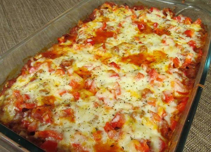 Zucchini Pizza Casserole  PinDelight Zucchini Pizza Casserole