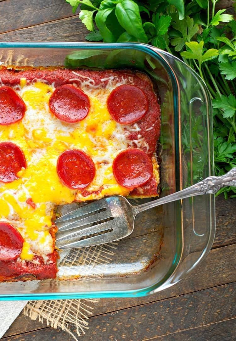 Zucchini Pizza Casserole  Dump and Bake Zucchini Pizza Casserole The Seasoned Mom