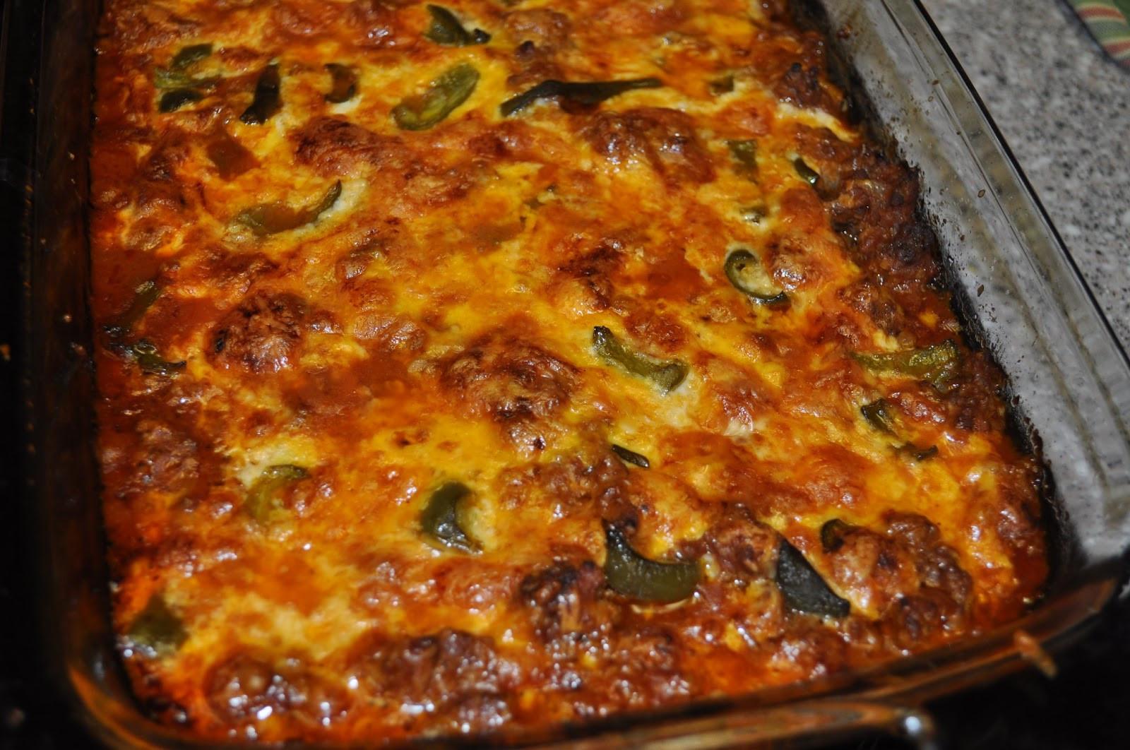 Zucchini Pizza Casserole  Beth s Favorite Recipes Zucchini Pizza Casserole