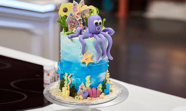 Zumbo'S Just Desserts Recipes  Under the sea cake Kidspot
