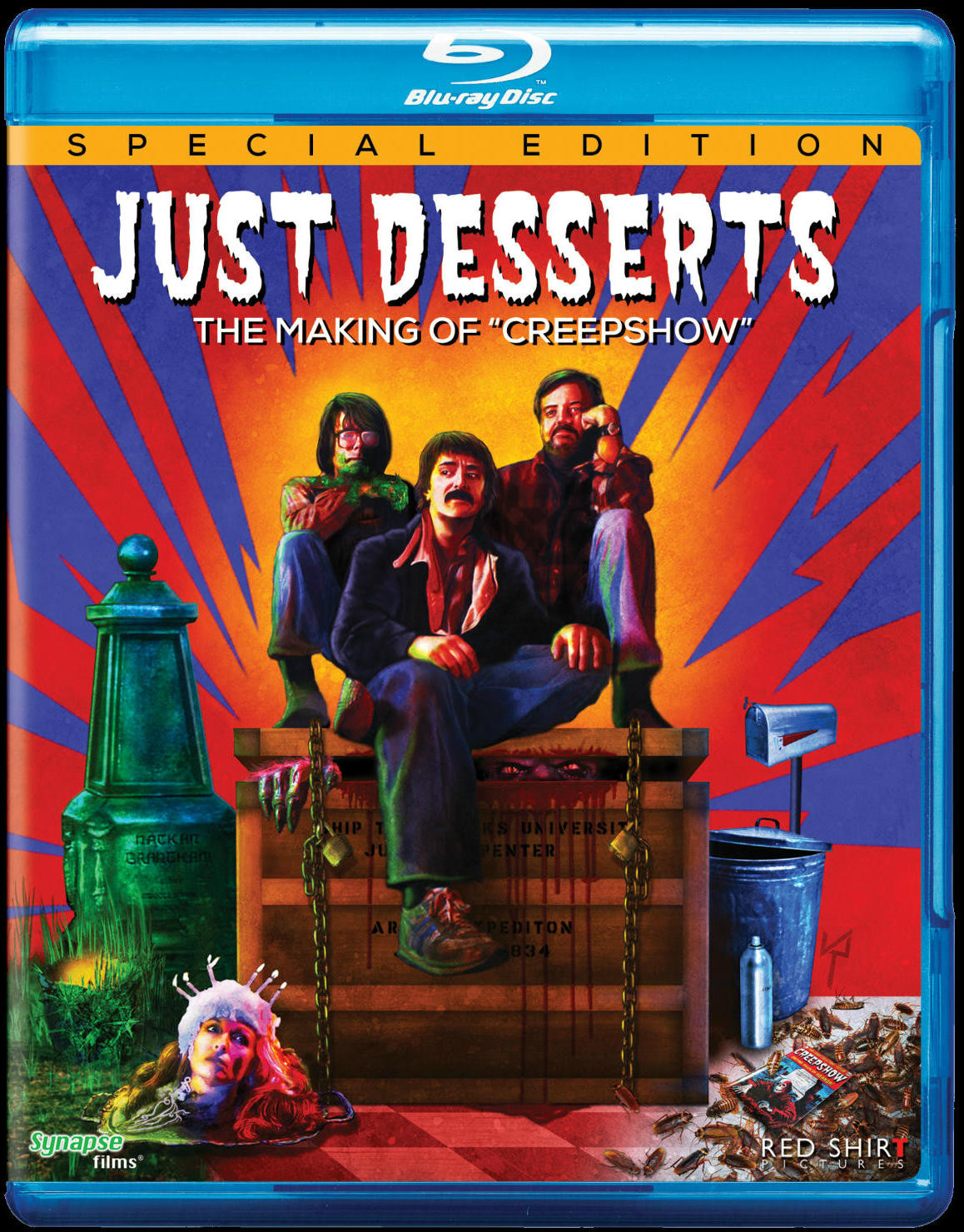 Zumbo'S Just Desserts Season 2 Release Date  JUST DESSERTS THE MAKING OF CREEPSHOW Blu ray Release