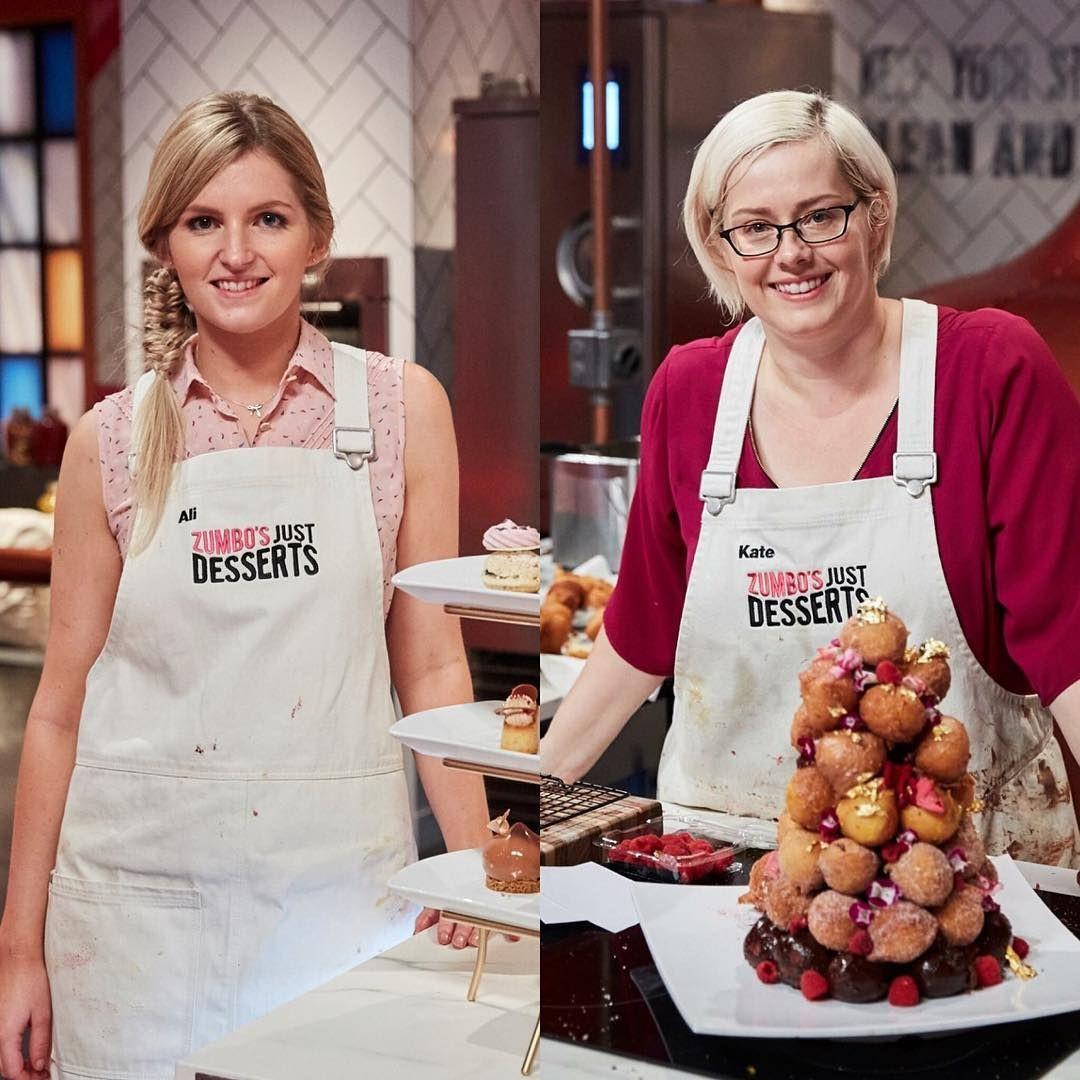 Zumbo'S Just Desserts Winner  Who will win Zumbo's Just Desserts Contestants Ali and