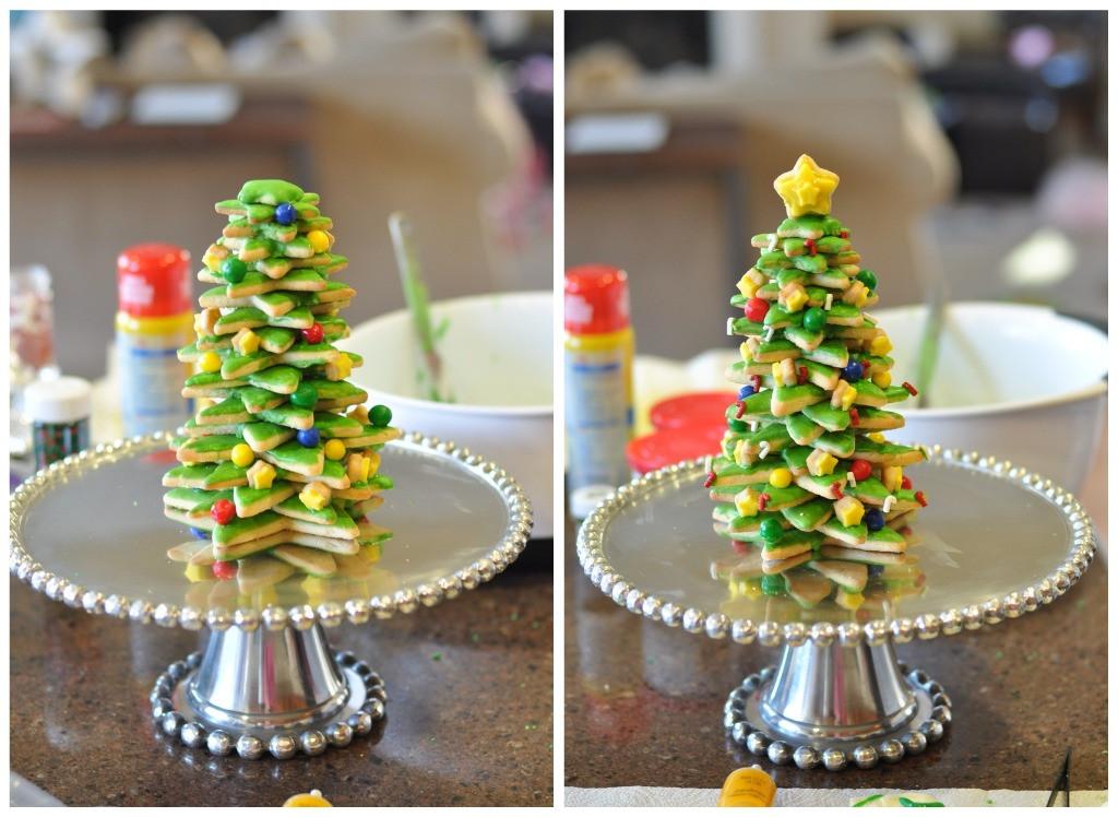 3D Christmas Tree Cookies  TUTORIAL 3D cookie christmas tree tutorial Creative Juice