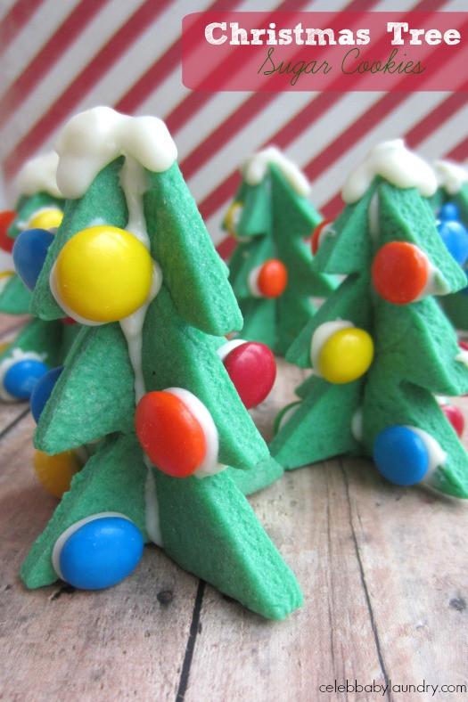 3D Christmas Tree Cookies  3D Christmas Tree Sugar Cookies