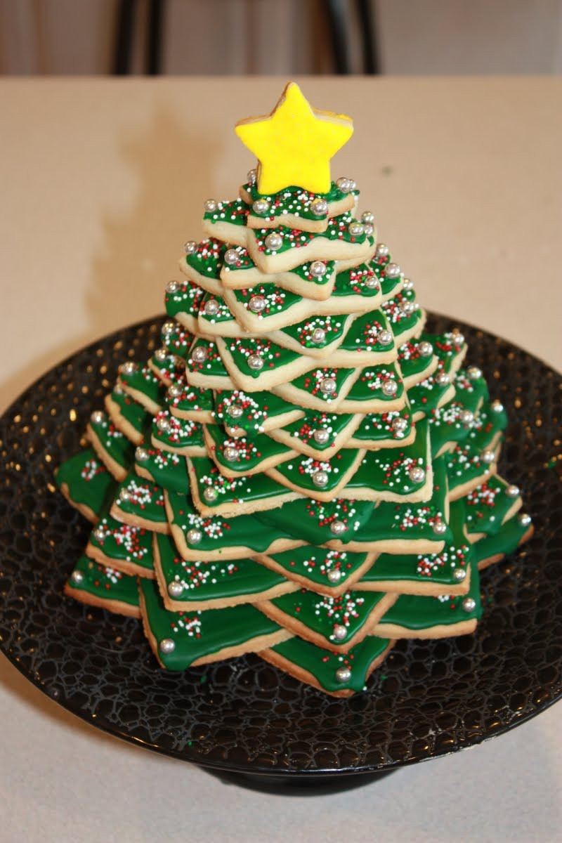 3D Christmas Tree Cookies  PreciousMoments Lovely Homebake 3D Christmas Tree Cookie