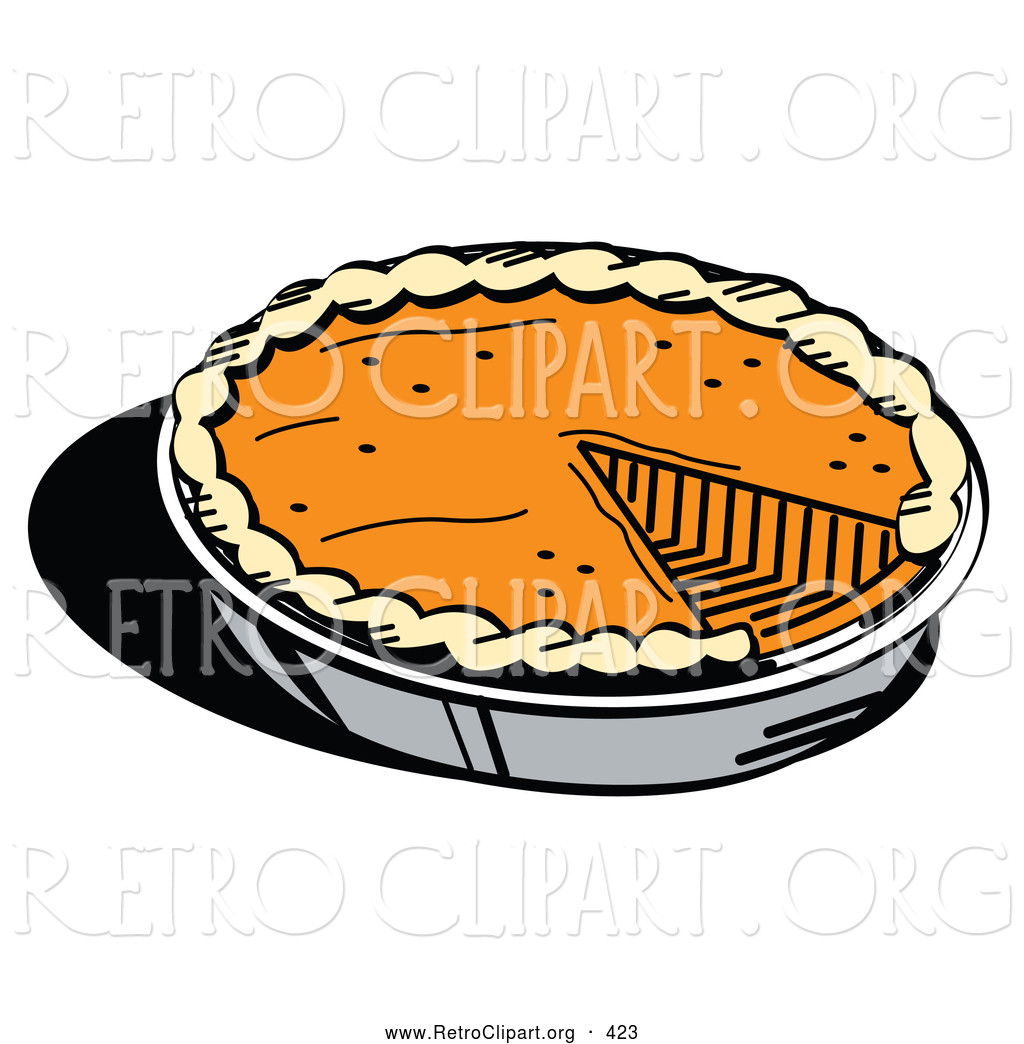 4 Thanksgiving Pies On One Sheet Tray  Royalty Free Stock Retro Designs of Holidays Page 4