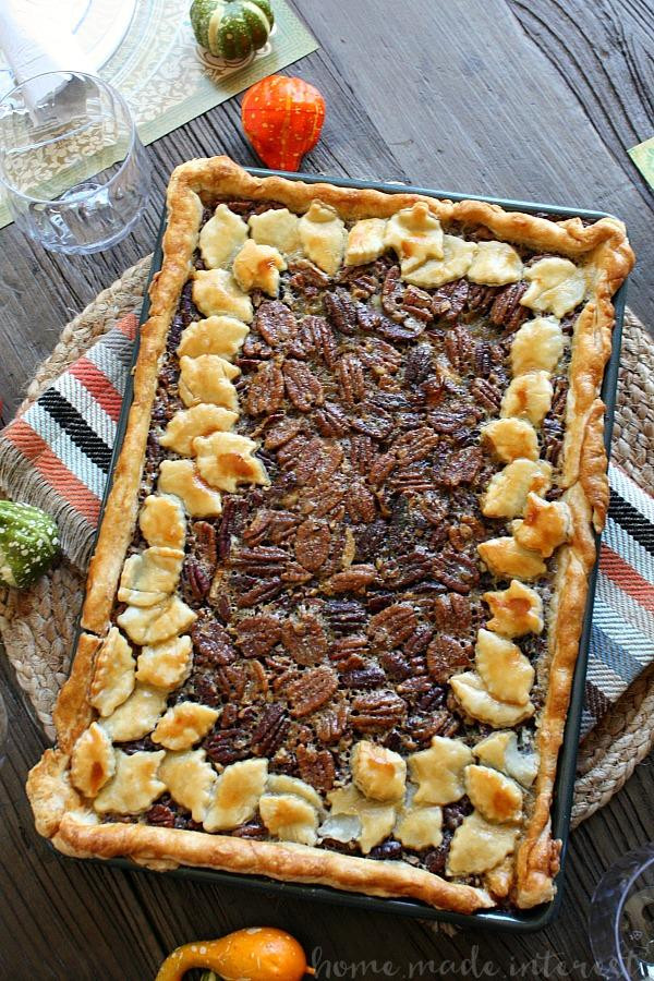 4 Thanksgiving Pies On One Sheet Tray  Slab Pie Recipes Southern Living
