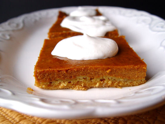 4 Thanksgiving Pies On One Sheet Tray  Pumpkin Pie Sheet Cake