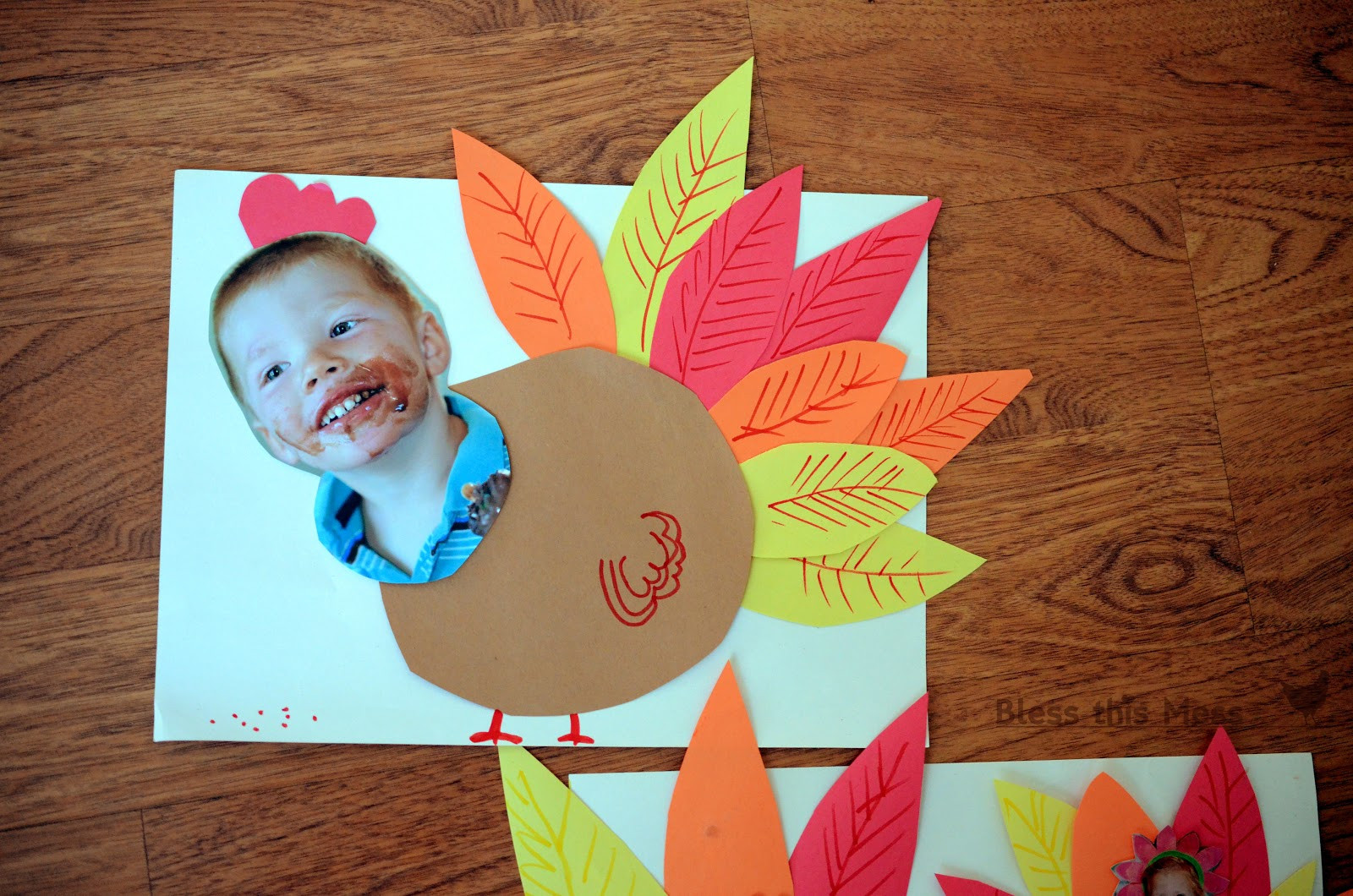 A Turkey For Thanksgiving Activities  5 Easy Turkey Crafts for Kids