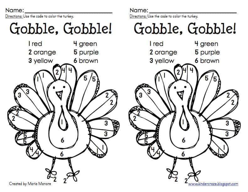 A Turkey For Thanksgiving Activity  Thanksgiving Activities for the Kids Cupcake Diaries