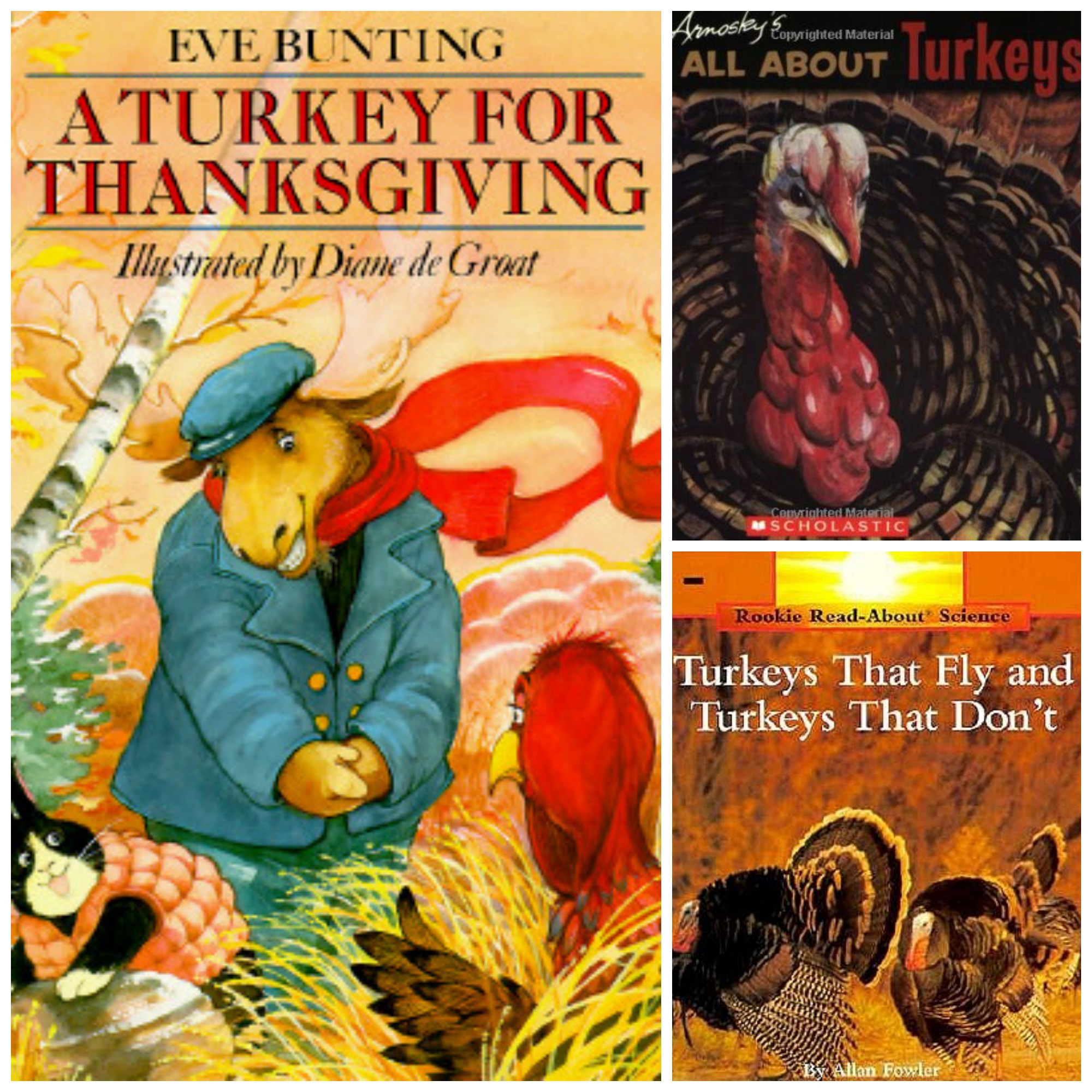 A Turkey For Thanksgiving By Eve Bunting  Our Crafts N Things Blog Archive Poppins Book Nook