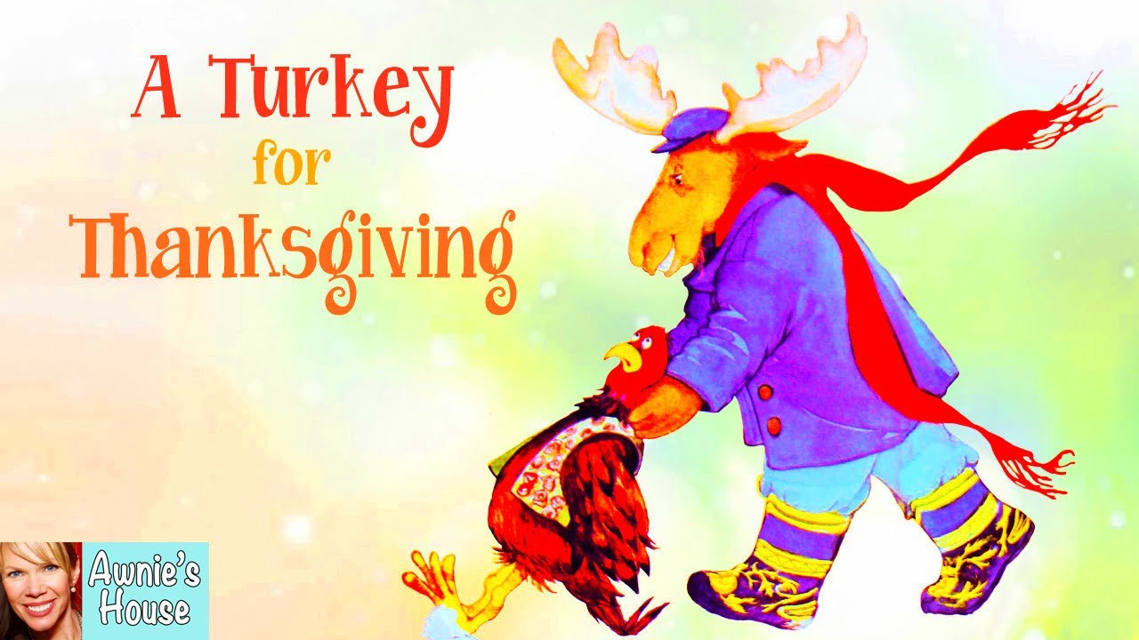 A Turkey For Thanksgiving By Eve Bunting  Kids Book Read Aloud A TURKEY FOR THANKSGIVING by Eve