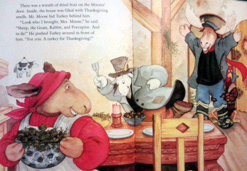 A Turkey For Thanksgiving By Eve Bunting  How do moose decorate their home With cows of course