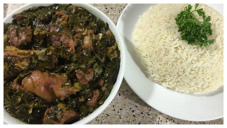 African American Thanksgiving Recipes  Collard Greens Liberian Style Thanksgiving