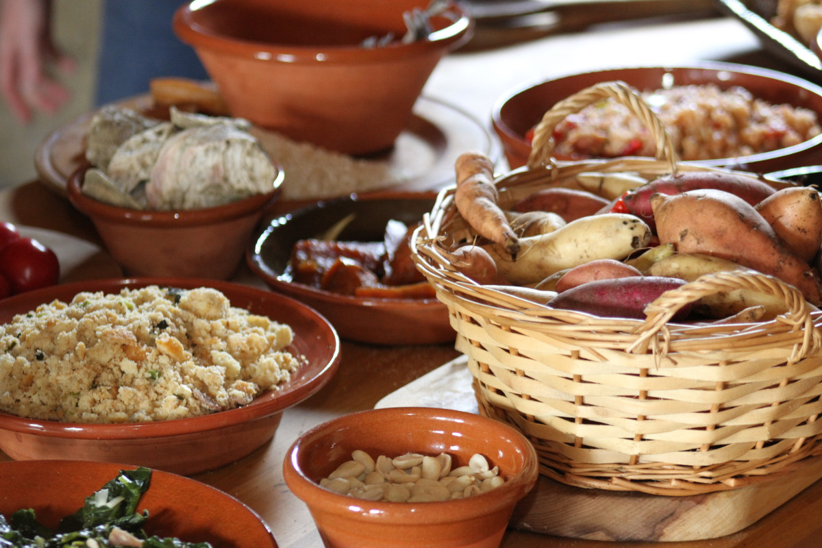 African American Thanksgiving Recipes  Food a Maryland Plantation Frederick Douglass Speaks