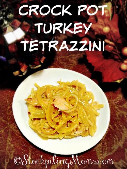 After Thanksgiving Turkey Recipes  Crock Pot Turkey Tetrazzini