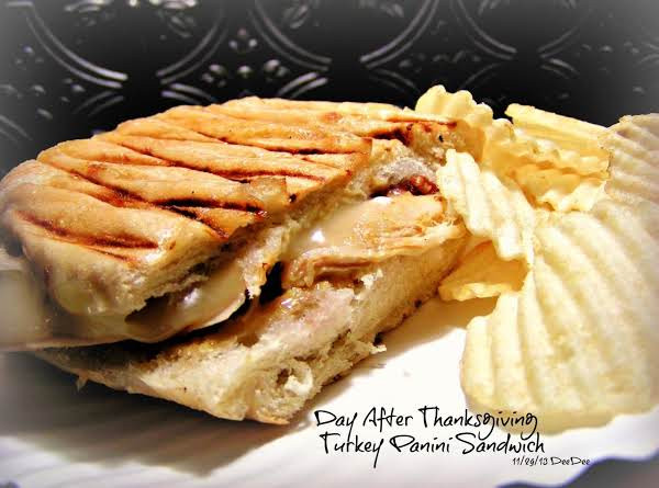 After Thanksgiving Turkey Recipes  Day After Thanksgiving Turkey Panini Recipe