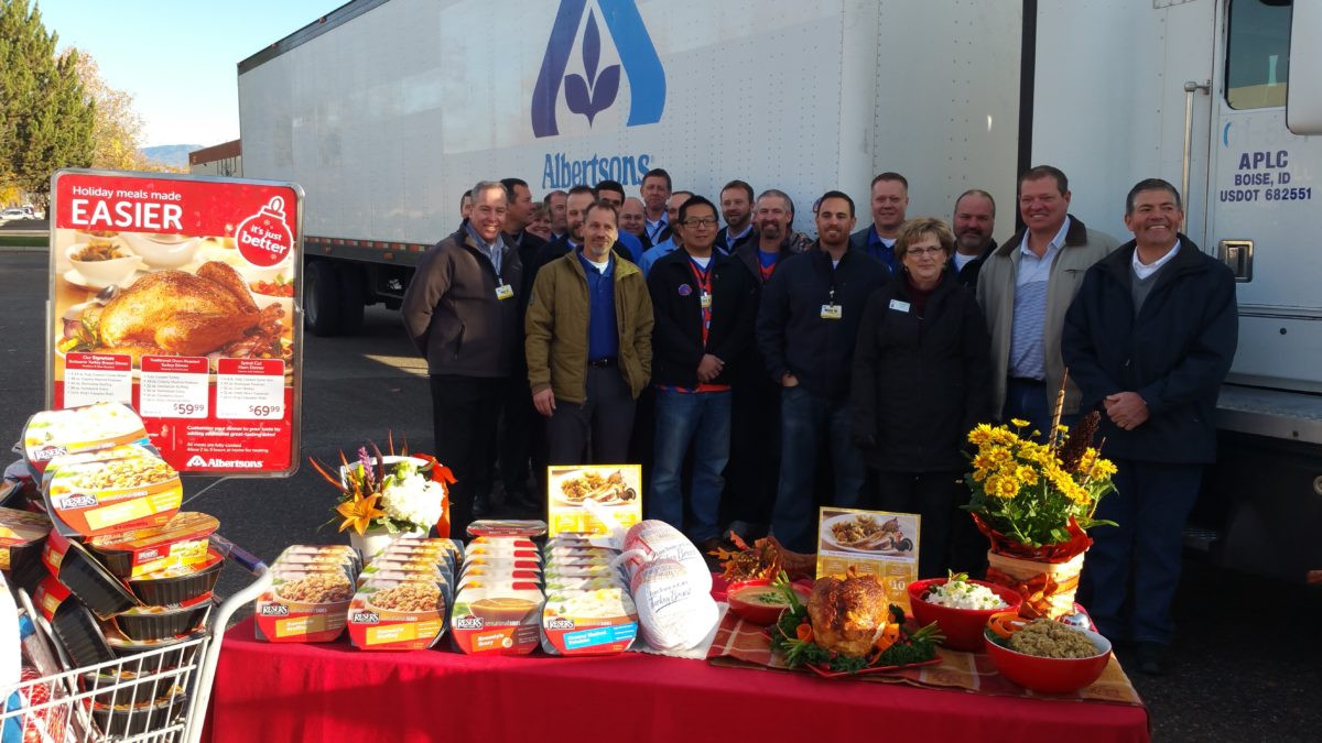 Albertsons Thanksgiving Dinners Prepared  Albertsons – The Idaho Foodbank