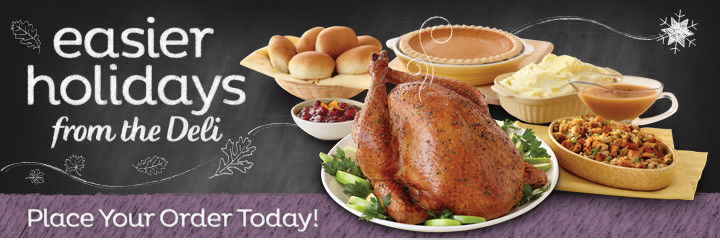 Albertsons Thanksgiving Dinners Prepared  safeway holiday dinners