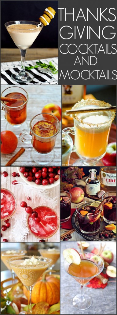 Alcoholic Thanksgiving Drinks  Thanksgiving Cocktails