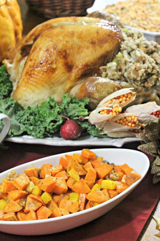 Amazing Thanksgiving Side Dishes  Sweet & Sour Pumpkin and Sweet Potato Amazing