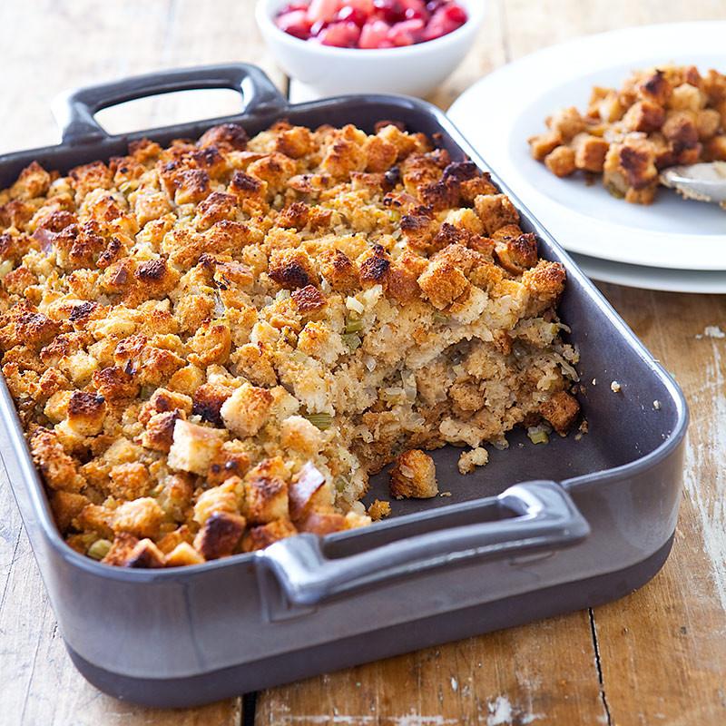 Americas Test Kitchen Thanksgiving Turkey  Back to Basics Bread Stuffing