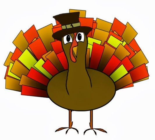 Animated Thanksgiving Turkey  Kids Thanksgiving Clipart Vector Clip Art Free