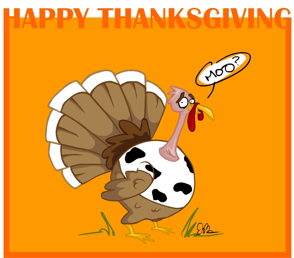 Animated Thanksgiving Turkey Movie  Jess Morris Animator 2008 11