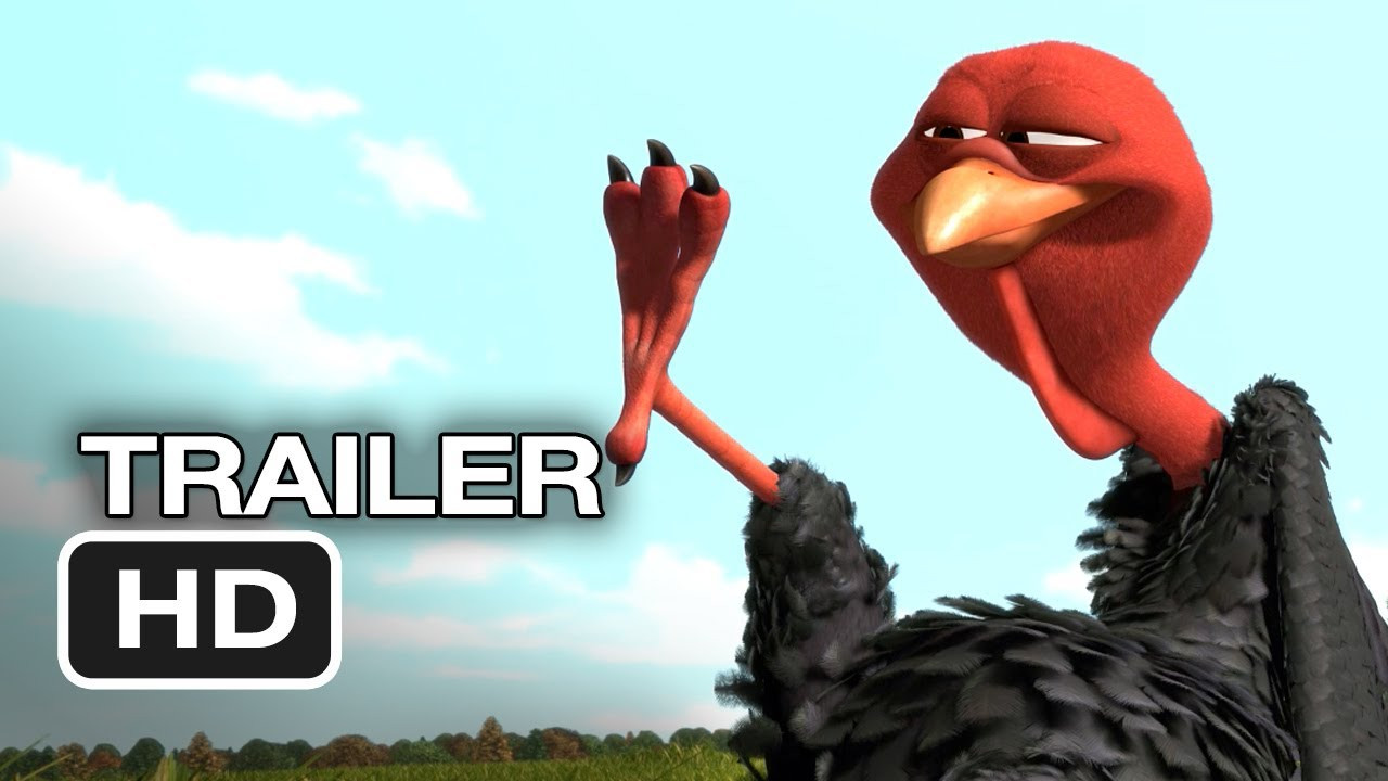 Animated Thanksgiving Turkey Movie  Free Birds ficial Trailer 1 2013 Owen Wilson