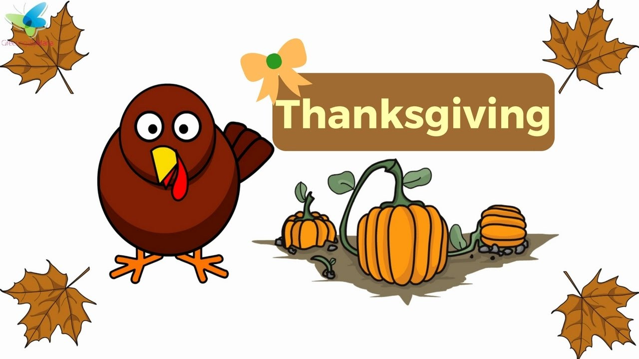 Animated Thanksgiving Turkey Movie  Cute Thanksgiving Turkey Animation
