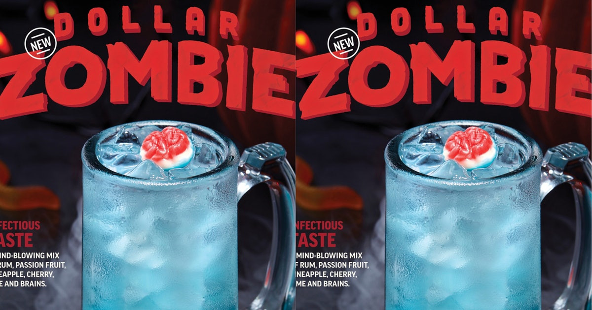 Applebees Halloween Drinks  Applebee s Dollar Zombies Are Available All Through