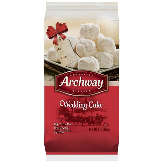 Archway Christmas Cookies  Archway Sugar Box Wedding Cake Cookies 6 oz Tar