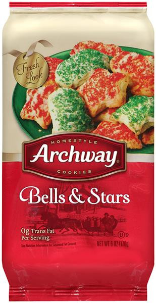 Archway Christmas Cookies  Archway Homestyle Cookies Bells & Stars