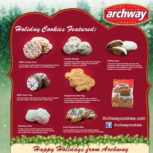 Archway Christmas Cookies  Archway Cookie Contest Vote For your Favorite & Win