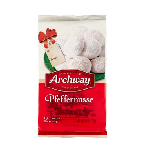 Archway Christmas Cookies  Archway Holiday Pfeffernusse Cookie 6 Oz