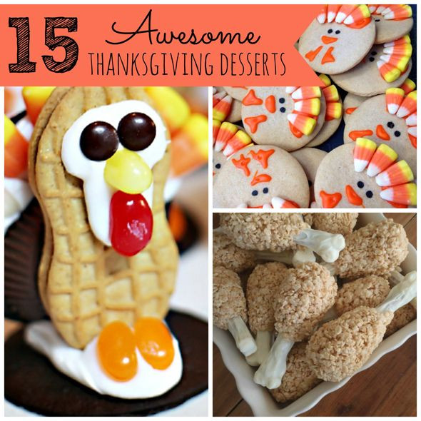 Awesome Thanksgiving Desserts  17 Best images about Thanksgiving on Pinterest