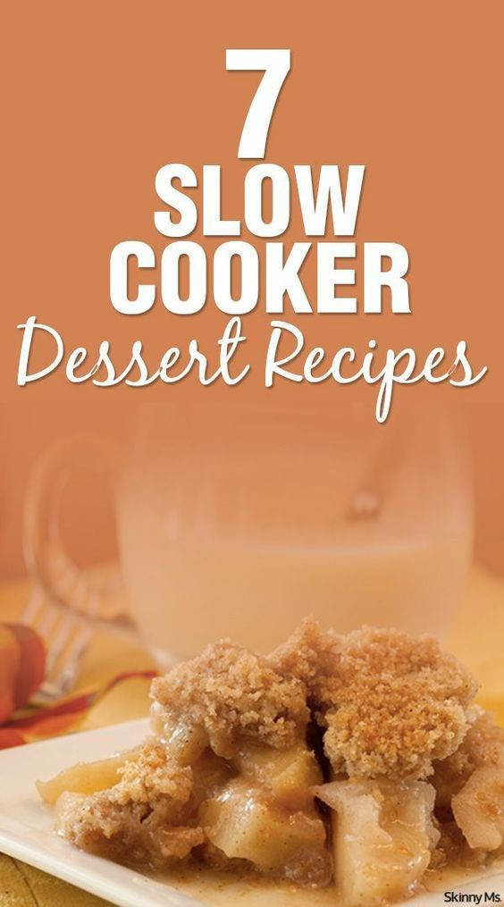 Awesome Thanksgiving Desserts  7 Slow Cooker Dessert Recipes
