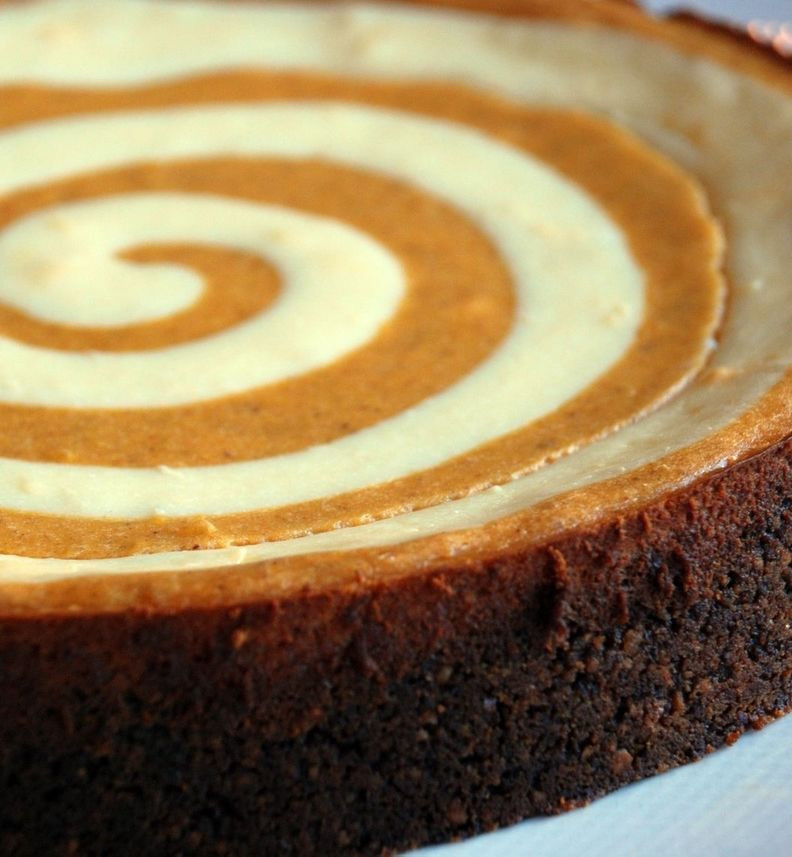 Awesome Thanksgiving Desserts  Recipe For Pumpkin Cheesecake Pumpkin cheesecake with a