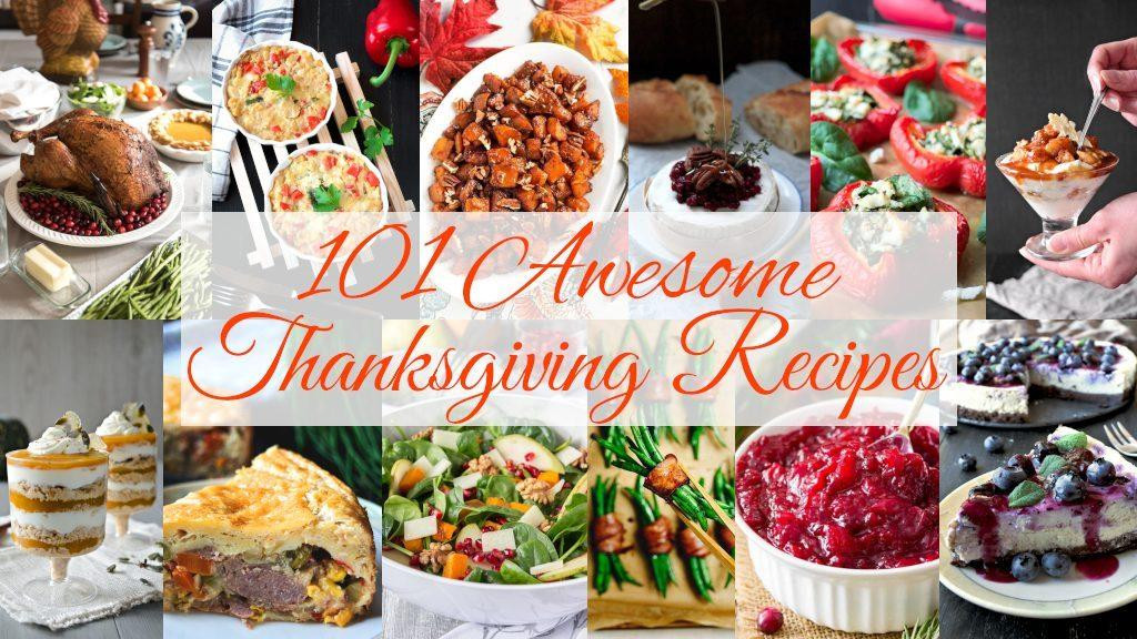 Awesome Thanksgiving Desserts  101 Awesome Thanksgiving Recipes Cooking Journey Blog